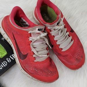 Worn Women's Nike Free 3.0
